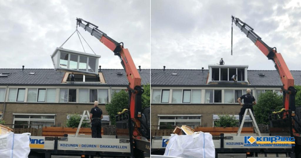 Hoe werkt het plaatsen van een dakkapel?